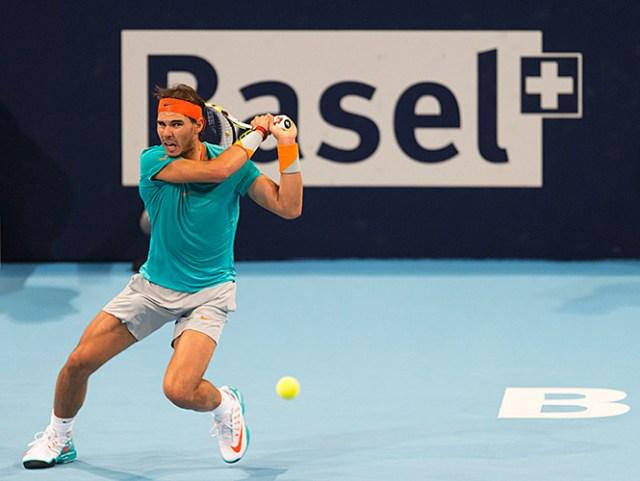 Nadal avanza fácil a cuartos en el Torneo de Basilea (AP)
