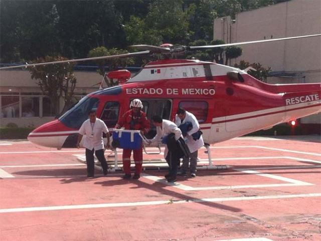 Esta mañana, siete órganos humanos arribaron a la Ciudad de México para ser trasplantados. Foto Arturo García
