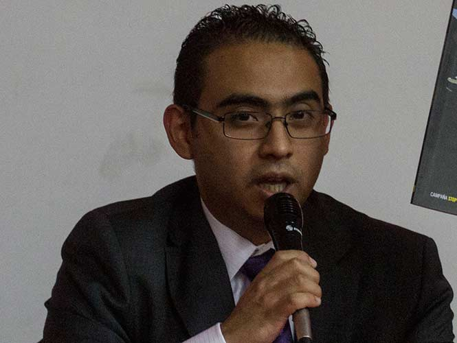 El director de Amnistía Internacional México, Perseo Quiroz (Foto: Cuartoscuro)