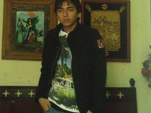Ricardo de Jesús Esparza Villegas, estudiante de Guadalajara que falleció en Guanajuato, presuntamente a manos de policías, tras asistir al Cervantino