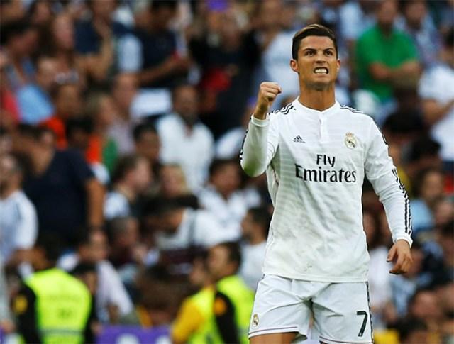 Cristiano Ronaldo cobró de manera efectiva un penal (Reuters)
