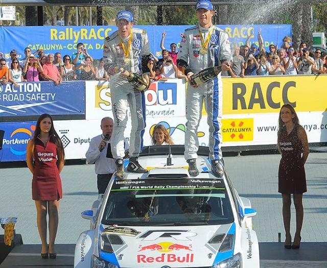 A falta de una competencia, Ogier se corona campeón por segundo año consecutivo