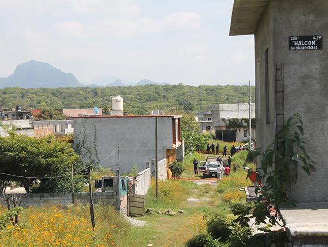 El doble homicidio tuvo lugar en la calle Coqueta de la colonia Unidad Deportiva del municipio de Cuernavaca