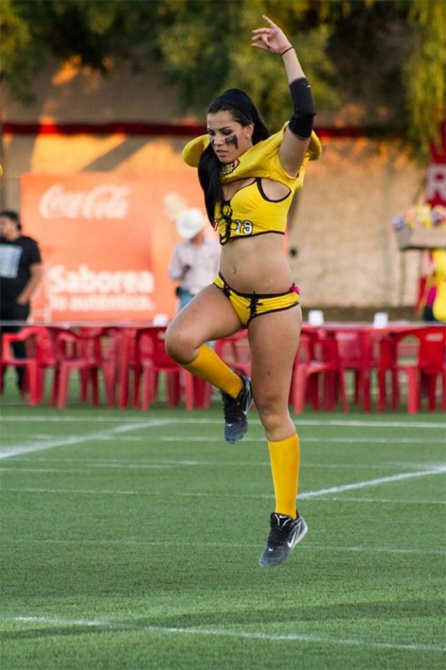 La belleza de la Liga Iberoamericana de Bikini Foto: tomada del Facebook LigaIberoamericanadeBikiniFootball)