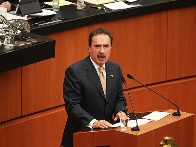 Emilio Gamboa, coordinador del PRI en el Senado