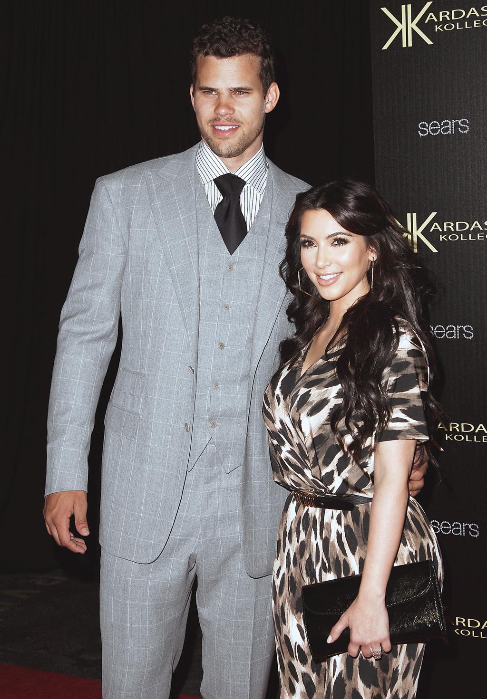 Días antes de casarse con Kris Humphries, en agosto de 2011. Foto: AP
