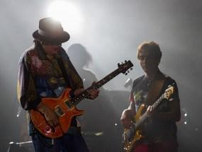 Carlos Santana en el DF