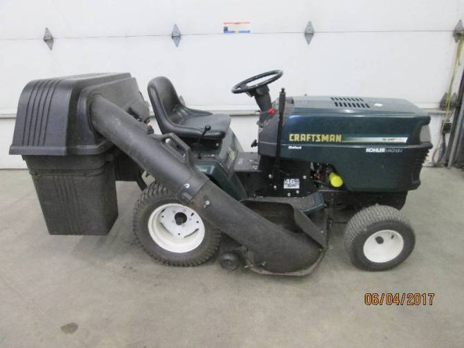 craftsman lawn tractor with kohler engine