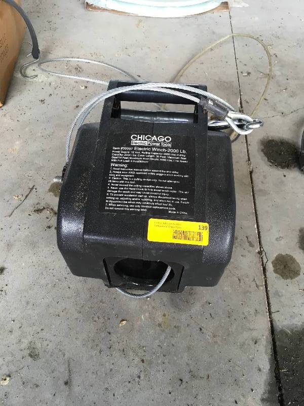 Electric Power Tools Winch