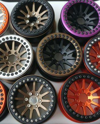 2.2 Beadlock Bottoms Up RC Wheels