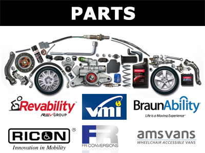 wheelchair van parts brown leather bucket chair accessible vans and vehicles need is our specialty