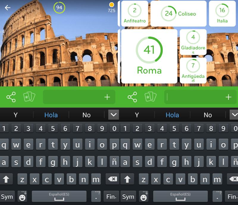 Imagen Roma  94 respuestas  94 Respuestas  Soluciones del juego 94