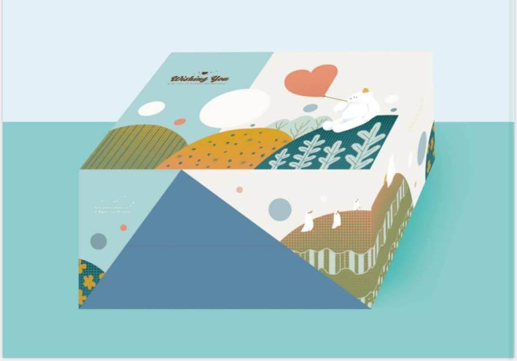 雙層插畫童趣款(圖片由史菲爾的練習曲授權使用。)