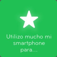 Soluciones 94 Utilizo mucho mi smartphone para