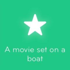 A movie set on a boat 94
