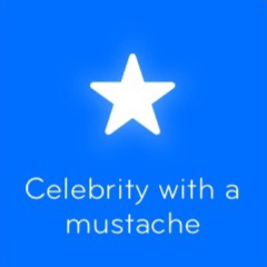 Celebrity with a mustache 94