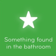 Something found in the bathroom 94