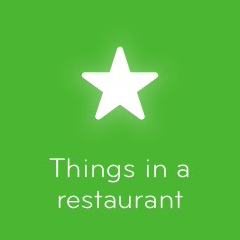 Things in a restaurant 94
