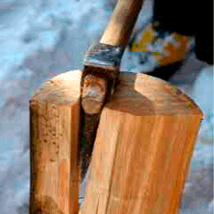 94 axe and wood image