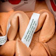 94 fortune cookies picture
