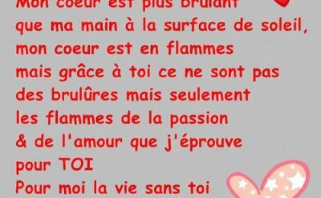 Poeme D Amour Blog De Missjulie1430