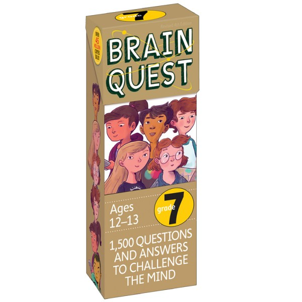 Brain Quest Gr 7 Games & Activities - Wp-16657