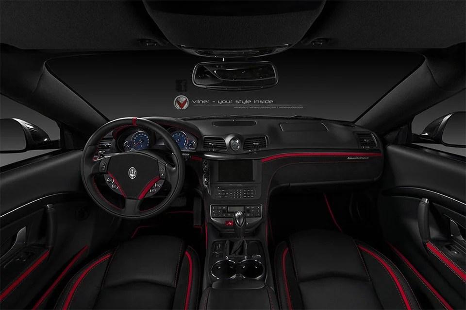 Vilner Tricks out Maserati GranTursimo Interior  95 Octane