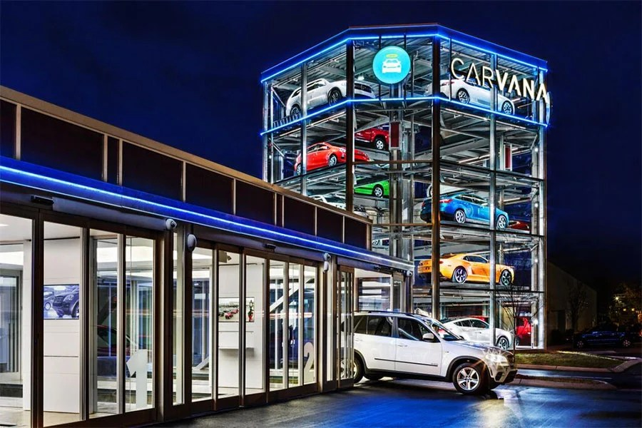 Carvana Coinoperated Car Vending Machine Opens In