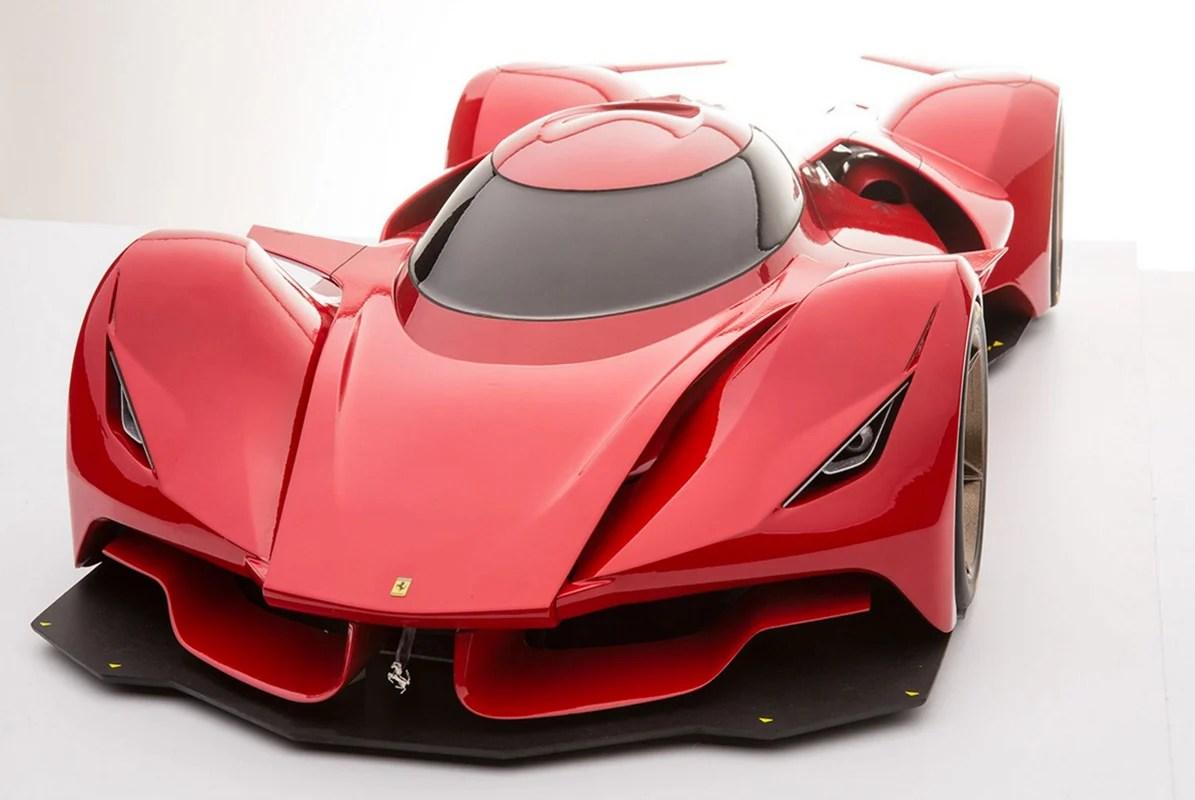 Car Designer Dreams Up Rad Ferrari Le Mans Prototype  95