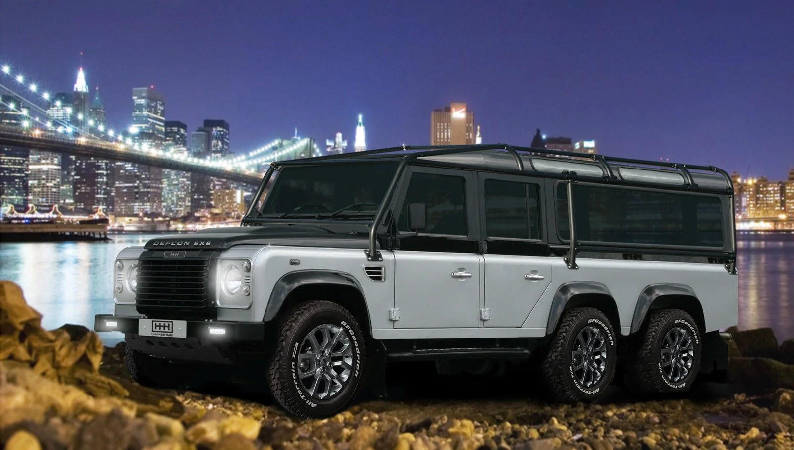 Got $585 000 This Land Rover Defcon 6X6 Defender is for