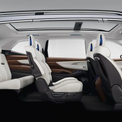 Suv With 3 Rows And Captains Chairs Rio Gear Chair Subaru Ascent Concept Is A Big Row The That Can Seat Seven People Normally Suvs 7 Passenger Means Three Seats In Second Two Third
