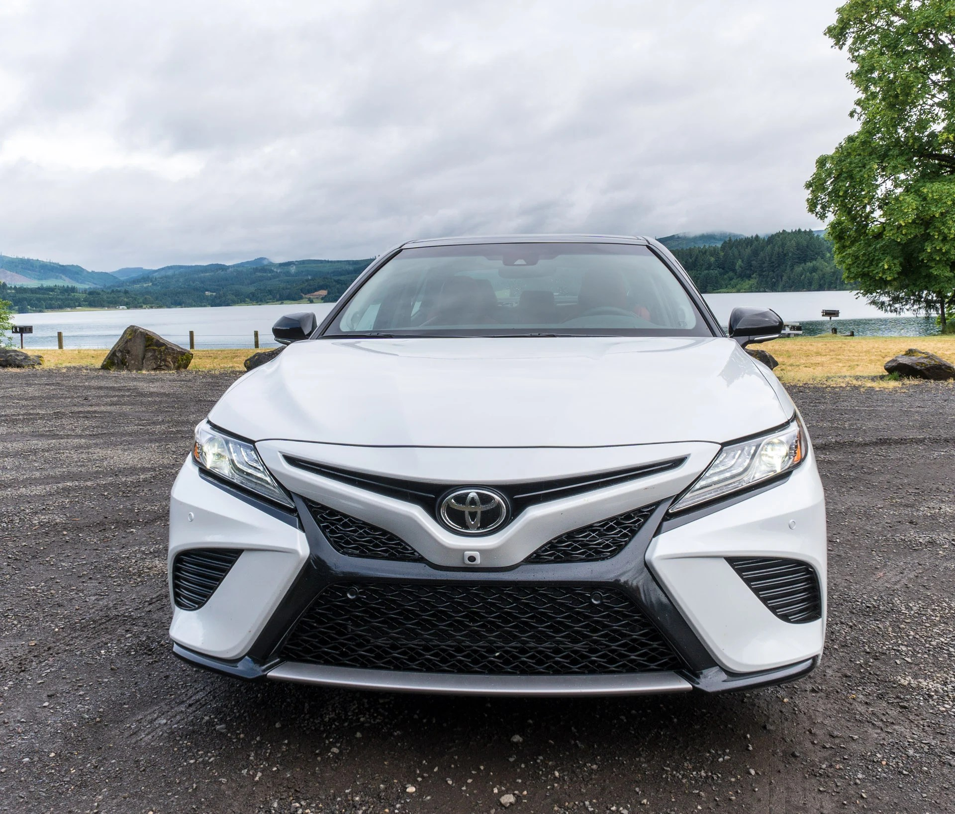 all new camry white interior grand avanza g 2018 toyota first drive review say bye bland