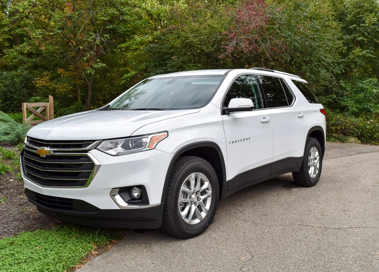 2018 Chevrolet Traverse Review Ready To Play With The Big