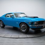 Rare And Beautiful Grabber Blue 1970 Mustang Boss 429 For Sale