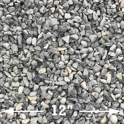 Clean chip gravel