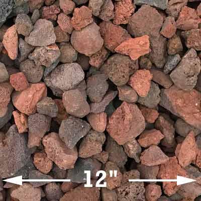 Medium lava rocks