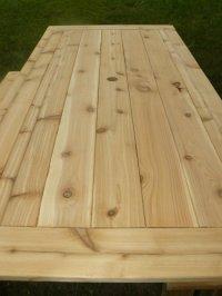 Outdoor Cedar Tables