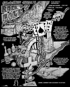 A Robert Johnson inspired one page comic / Une page inspirée par Robert Johnson