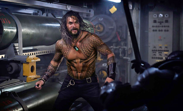 Jason Momoa aparece en nueva imagen de Aquaman