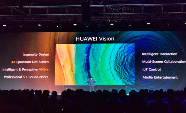 Huawei presenta su primer televisor Smart TV 4K que viene con Harmony OS