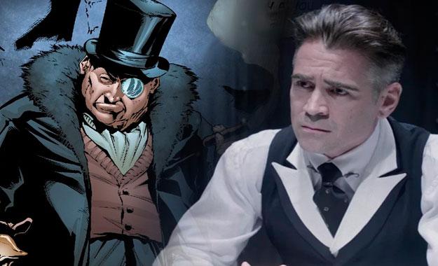 Actor Colin Farrell negocia para ser el Pingüino en «The Batman» de Robert Pattinson