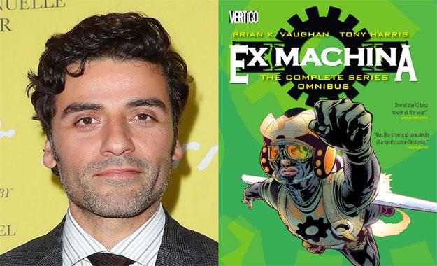 El actor Oscar Isaac protagonizará y producirá «The Great Machine»