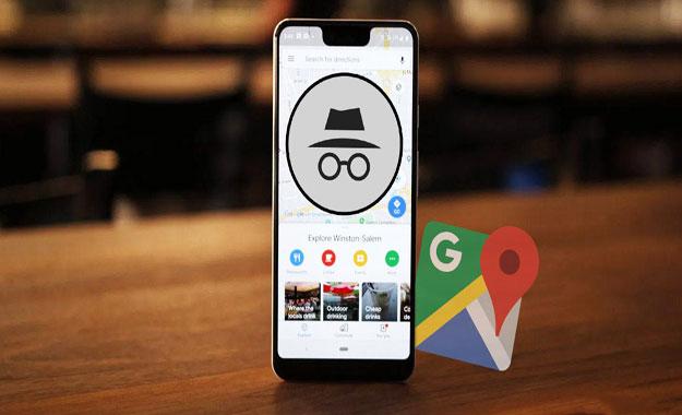 Pasos para activar el modo incógnito de Google Maps