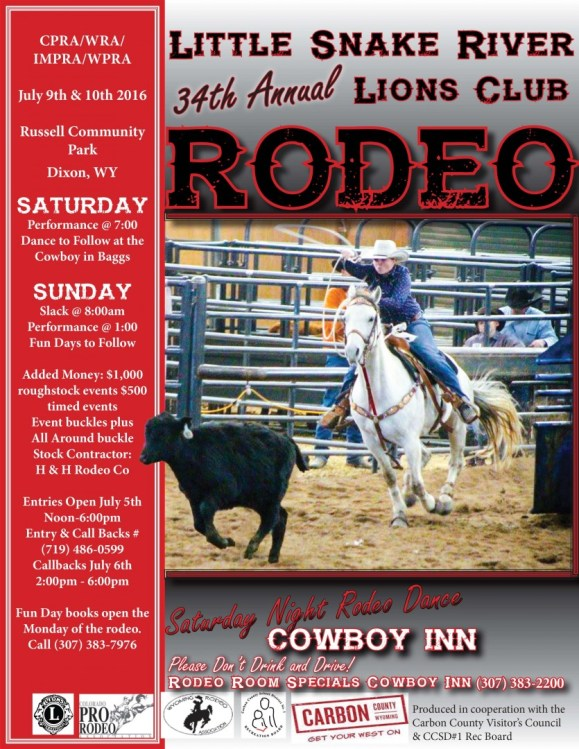2016 Rodeo Poster small