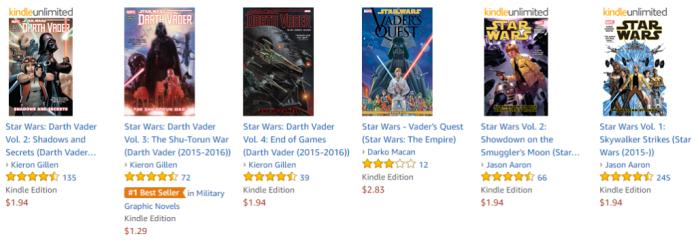 Kindle Star Wars: Darth Vader