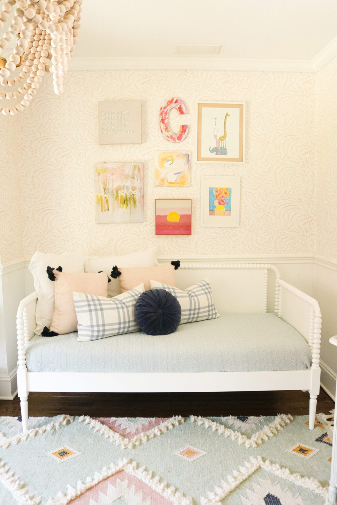 Three Ways to Make a Daybed that is inviting to sit on and cozy to fall asleep on.  Requires a lot of cute throw pillows of varying size.     Darling Darleen Top Lifestyle CT Blogger #darlingdarleen #daybed