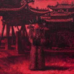 Genenpil – The Last Queen of Mongolia 2014 oil on canvas 100×150 cm