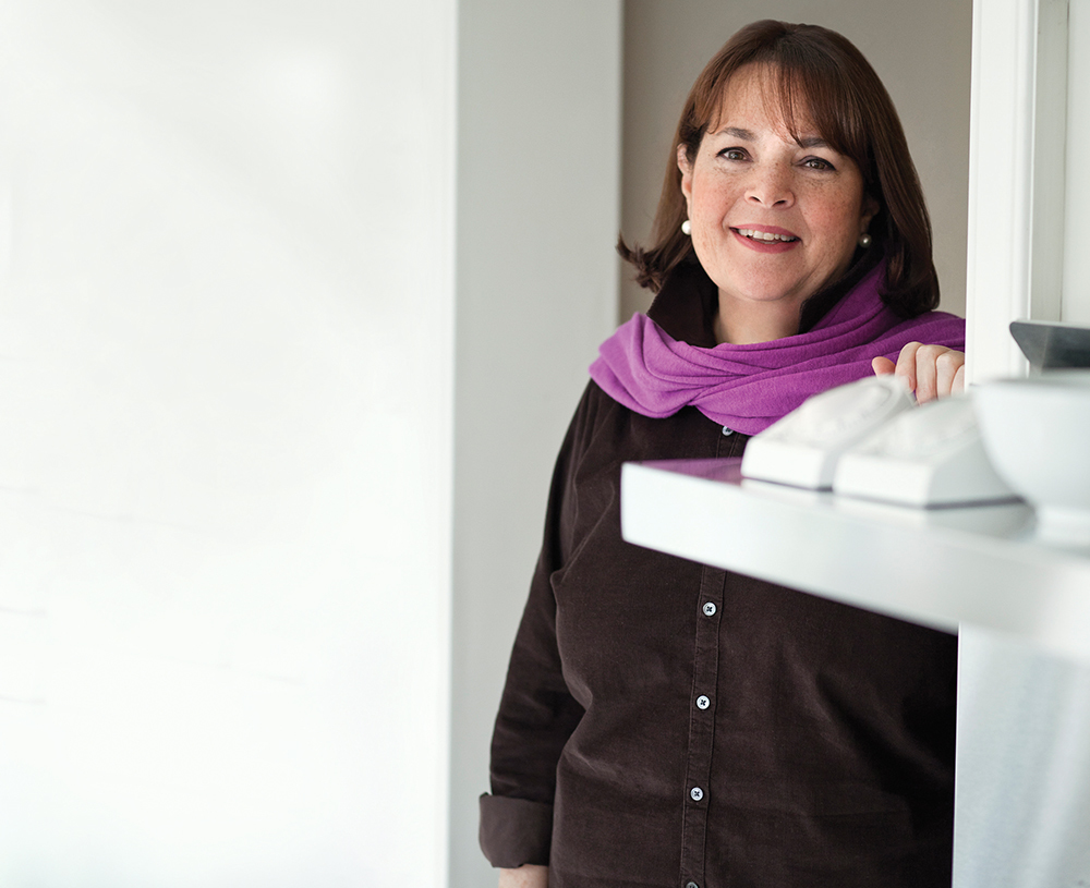 Ina Garten Shares Stories And Recipes