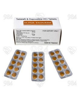 Super Tadarise 100 Tablets, Sunrise Remedies