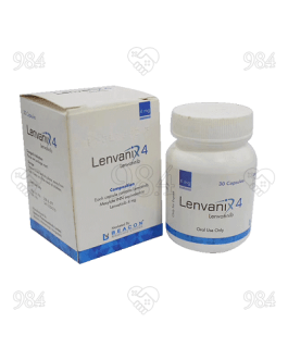 Lenvanix 4mg 30 Capsules, Beacon